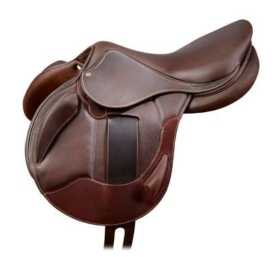"""All Purpose Horse JUMPING Synthetic Treeless Saddles (SIZES 14""""15''16'17'18)."""