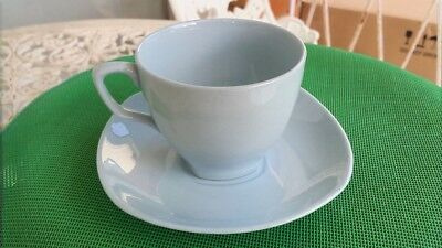 Vintage Johnson of Australia Blue Cup & Saucer