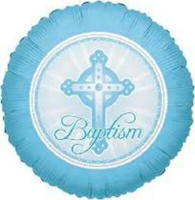 Set Of 12 Blue Baptism 14X8 Size Cake Bags