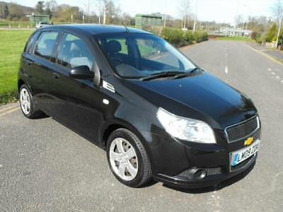 2008 (09) CHEVROLET AVEO 1.2 LS 5DR Manual