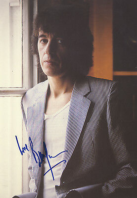 """Bill Wyman """" The Rolling Stones """" In Person Signed Colour Book Picture."""