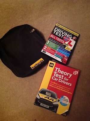 Halfords  AA Theory Test For Car Drivers Book DVD