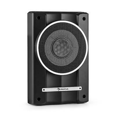 """200w POWERED ACTIVE SUBWOOFER 8"""" AUTO SUB COMPACT UNDERSEAT * FREE P&P UK OFFER"""