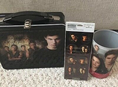 The twilight sega New Moon lunch box cup stickers