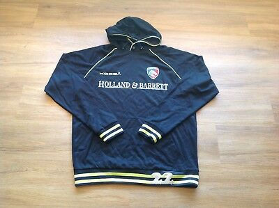 """Leicester Tigers, Matchday, Overhead Long Sleeve Hoody. Large. P To P 25""""."""