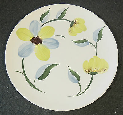 Blue Ridge Southern Potteries Hand Painted Doe Eyes Dinner Plate EUC