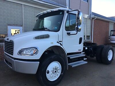 Freightliner m2 106 single axle truck tractor Allison Automatic with axle lock