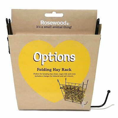Rosewood Boredom Breaker Small Animal Folding Wire Hayrack