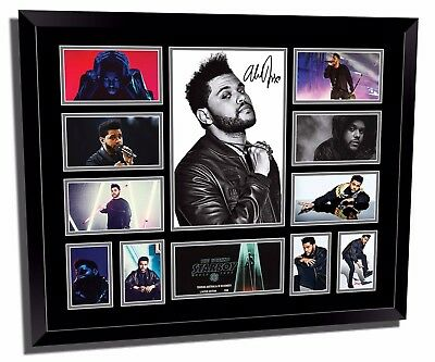 The Weeknd 2017 World Tour Signed Limited Edition Framed Memorabilia