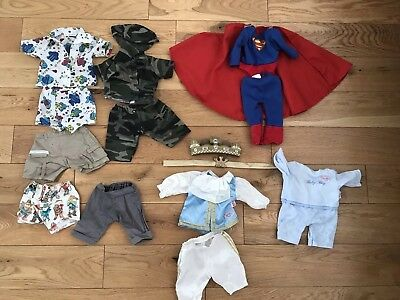 Clothing bundle for Zapf Baby Born boy doll