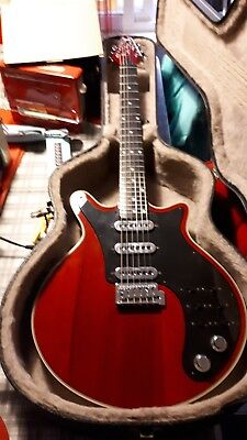 Brian may guitar signature special , by burns fantastic iconic rock guitar