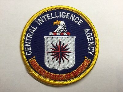 US/USA/United States/Federal Central Intelligence Agency (CIA) Police Patch