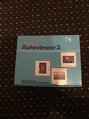 Photax Autoviewer 3 Boxed With Instructions Manual