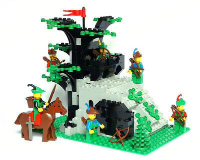 Lego Castle Forestmen Set 6066 1 Camouflaged Outpost 100 Complete