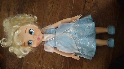 "the Disney store doll princess cinderella animations 13"" doll"