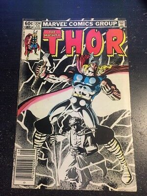 Mighty Thor#334 Incredible Condition 9.0(1983) Layton Cover!!
