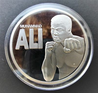 Muhammad Ali - The Boxing Champion Of The World Memorial Coin
