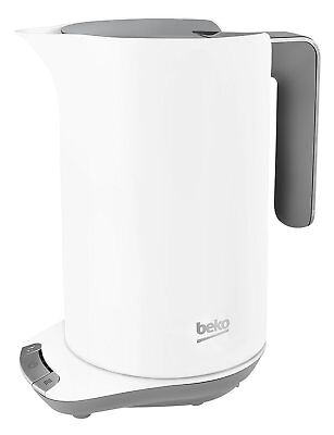 Beko WKM6306W Sense Temperature Control Kettle 1.6L 3000W White 1 Year Warranty