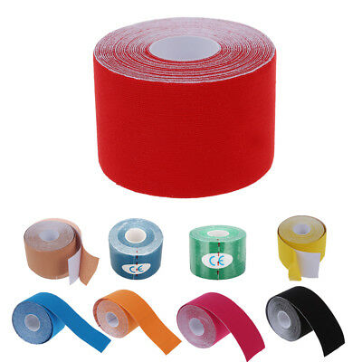 1 Roll Sports Kinesiology Muscles Care Fitness Athletic Health Tape 5M * 5CM TG