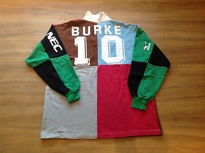 Harlequins RFC. Paul Burke. Match Worn And Washed Shirt.
