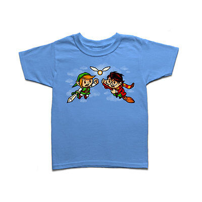 A Link To The Snitch - Link from Zelda and Harry Potter Kids T-shirt