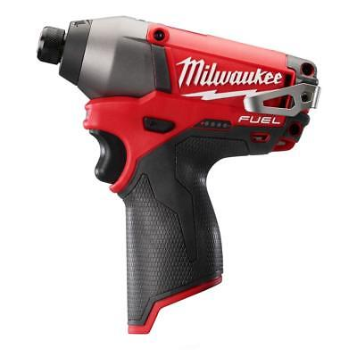 MILWAUKEE-2453-20 M12 FUEL 1/4In  Hex Impact Driver (Tool Only)