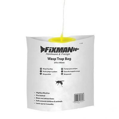 Fixman Wasp Trap 215x195 mm with Attractant Insect Trap Wasps Protection 417498