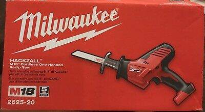 Milwaukee M18 Hackzall Cordless One Handed Recip Saw