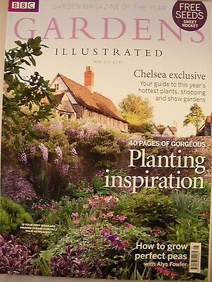 Gardens illustrated magazine - May 2010 - Chelsea - Growing perfect peas