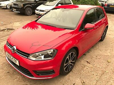 15 Volkswagen Golf 2.0 Tdi 150 R-Line **stunning Rare Car** Fabulous Looking,
