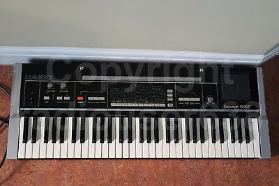 Casio Casiotone 1000P vintage electronic musical keyboard/synthesiser