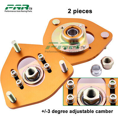 Fit Nissan S13 S14 180SX 200SX 240SX Pillow Ball Camber Plate Top Mount Max