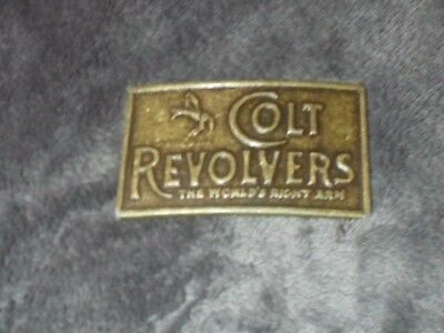 Vintage Colt Revolvers Belt Buckle ( Early 80's)  - New