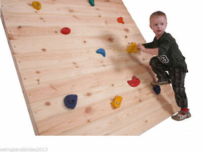 Set of 5 10 15 20 25 Resin Bolt On Climbing Frame Rock Wall Grab Holds Grip