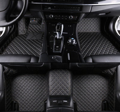 Car floor mat before & after lining waterproof pad Jeep Grand Cherokee2014-2017
