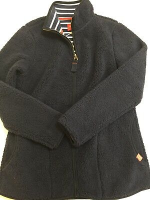 Joules Navy Fleece, Full Zip, Marvel, Size 18