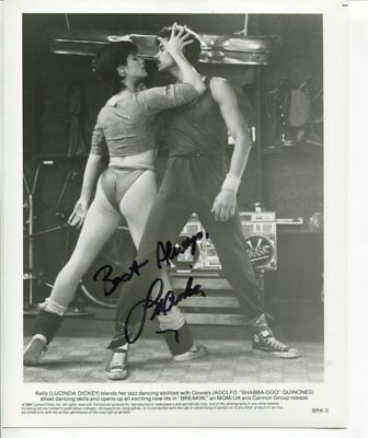 LUCINDA DICKEY autograph HAND SIGNED 5300
