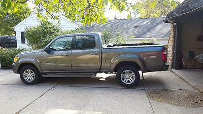2004 Toyota Tundra Synthetic Wood Trim 2004 Toyota Tundra, Double Cab LTD 4x4 V8, 141,923 Gray, Tow and Leather Package