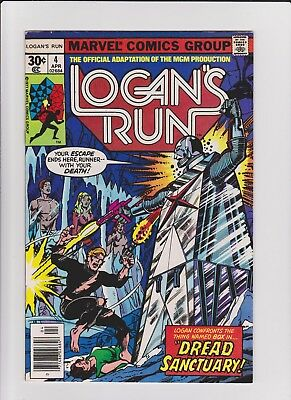 Logan's Run 4  VF    cents issue