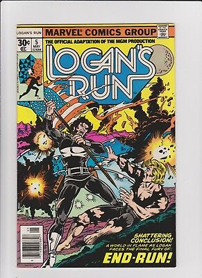 Logan's Run 5  VF    cents issue