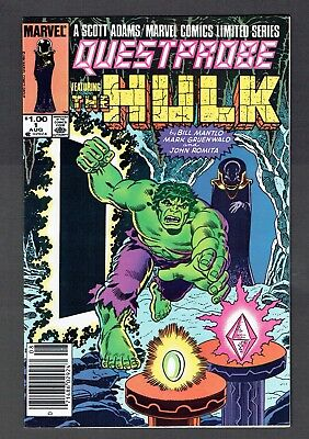 Questprobe #1 Hulk Marvel Comics Ltd Series VF+ 1984 Rare Canadian Price Variant