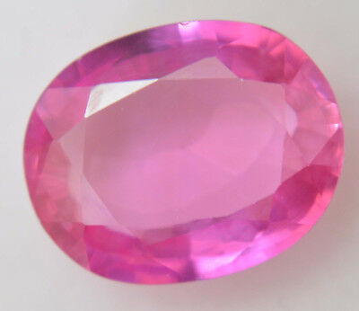 11.55 Ct Natural Pink Burma Ruby AGSL Certified Oval Cut AAA++ Gem Stone