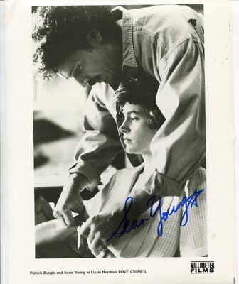 SEAN YOUNG autograph HAND SIGNED 5308