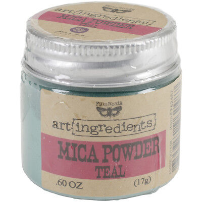 Finnabair Art Ingredients Mica Powder .6oz Teal AIMP-62487