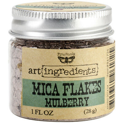 Finnabair Art Ingredients Mica Flakes 1oz Mulberry AIMF-96172