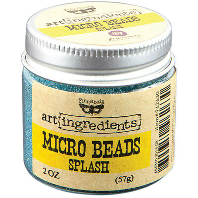 Finnabair Art Ingredients Micro Beads 2oz Splash AIMB-62630