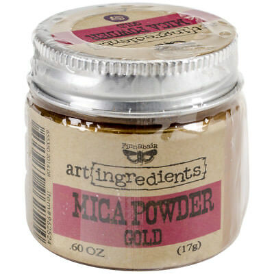 Finnabair Art Ingredients Mica Powder .6oz Gold AIMP-62524