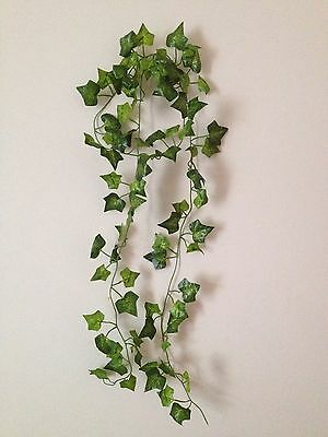 Artificial Ivy Garland Fake Trailing Vine Foliage Spray Faux Silk Leaves Craft