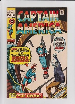 Captain America  131  VF    cents issue
