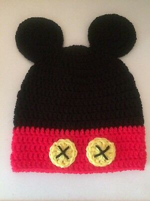 Childs Mickey, Minnie Mouse Hats